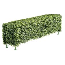 Faux Boxwood Low Rectangular Hedge