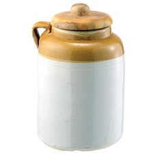 Crockery Pickling Jug with Handle
