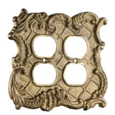 Cast Iron Double Outlet Plate