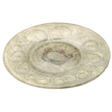Glass Cartographic Plate (Set of 2)