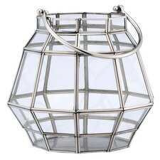 Fall Steel and Glass Lantern