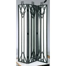 "<strong>Barreveld International</strong> 70.5"" x 40.8"" 3 Panel Room Divider"