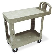 "17.5"" Flat Shelf Utility Cart"