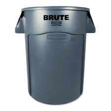 Brute Vented Trash Receptacle, 44 Gal