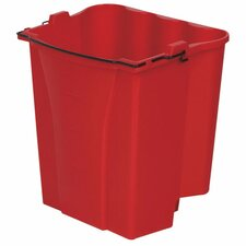 Dirty Water Bucket, Red