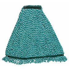 "<strong>Rubbermaid Commercial Products</strong> Rubbermaid Commercial - Web Foot Microfiber String Mops Web Foot Microfiber String 1"" Med: 640-A812-06-Gr - web foot microfiber string 1"" med"