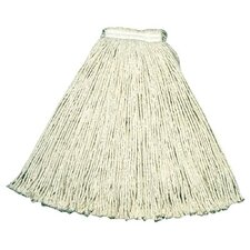 "<strong>Rubbermaid Commercial Products</strong> Rubbermaid Commercial - Economy Cotton & Rayon Cut-End Wet Mops #24 1"" Value-Pro Cottonmop Head White: 640-V118-00-Wh - #24 1"" value-pro cottonmop head white"