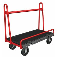 Rubbermaid Commercial - A-Frame Panel Trucks A-Frame Panel Truck 24X48: 640-4463-Bla - a-frame panel truck 24x48