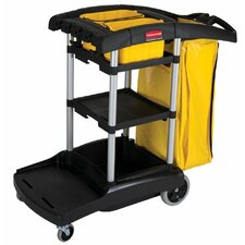 <strong>Rubbermaid Commercial Products</strong> Rubbermaid Commercial - High Capacity Cleaning Carts Black High Capacity Cleaning Cart: 640-9T72 - black high capacity cleaning cart