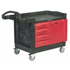 TradeMaster® Mobile Cabinets and Work Centers - 4 drawer & cabinet;