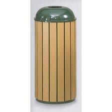 Regent 50 Series 15 Gallon Round Top Waste Receptacle