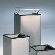 Large Open Top Stainless Steel Receptacle (Set of 3)
