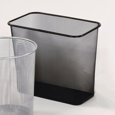 7.5-Gal. Garbage Receptacle Rectangular Wastebasket