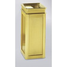 Designer Line Stainless Steel Ash/Trash Receptacle (Set of 2)