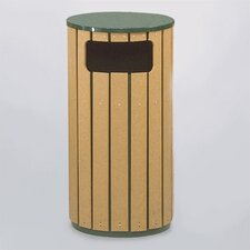 Regent 50 Series 12 Gallon Flat Top Waste Receptacle (Set of 2)