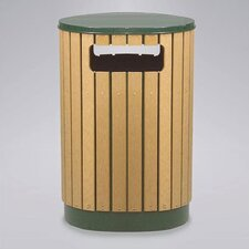 <strong>Rubbermaid Commercial Products</strong> Regent 50 Series 40 Gallon Round Waste Receptacle