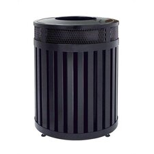 Avenue 40 Gallon Large Round Open Top Receptacle