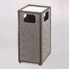 Aspen 24 Gal. Sand Top Ash/Trash Receptacle