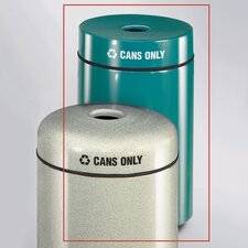 Barclay Round Cans Recycling Receptacle