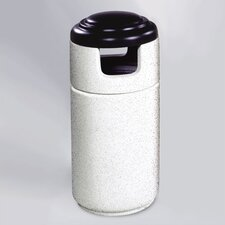 Cornerstone 23 Gallon Covered Top Receptacle (Set of 2)