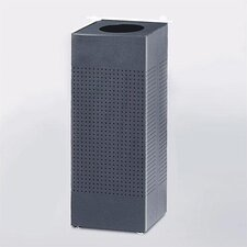 Designer Silhouettes Open Top Square Waste Receptacle