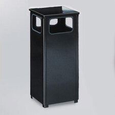 <strong>Rubbermaid Commercial Products</strong> Howard Standard 12 Gal. Black Waste Receptacle