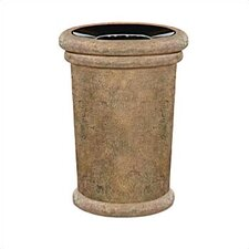 Milan 37 Gallon Tapered Receptacle with Urn