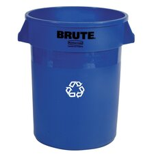 BRUTE® 44 Gallon Round Containers (Set of 16)