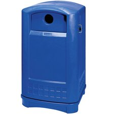 Plaza 50 Gallon Industrial Recycling Bin