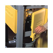 <strong>Rubbermaid Commercial Products</strong> Zippered Vinyl Cleaning Cart Bag in Yellow