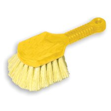 Pot Scrubber Brush with Yellow Bristles