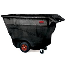 1250-lb Structural Foam Tilt Truck in Black