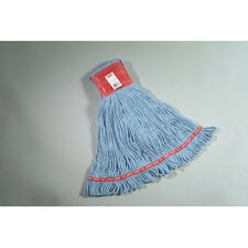 Large Web Foot Wet Mop in Blue
