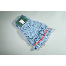 "0.59"" Medium Web Foot Wet Mop Head in Blue"
