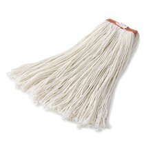 Premium Rayon Mop Heads with Cut-End in White