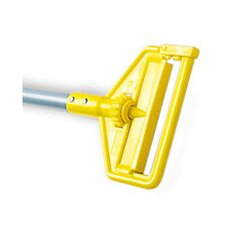 <strong>Rubbermaid Commercial Products</strong> Invader Side Gate Mop Handle with Fiberglass Handle/Yellow Plastic Head
