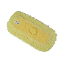 Trapper Commercial Dust Mop with Looped-end in Yellow
