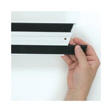 Hook and Loop Replacement Strips in Black (Set of 7)