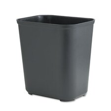 Fire-Resistant Rectangular Wastebasket
