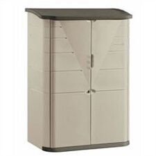 "Large Vertical 4'8"" W x 2'1"" D Storage Shed"