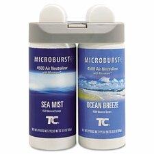 Microburst Duet Refills, 4 Oz, 4/Carton