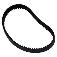 Replacement Brush Belt for Use with Rubbermaid Manual Vacuum Cleaner in Black
