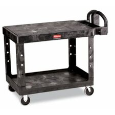 "33"" Flat Shelf Utility Cart"