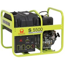 5,500 Watt Diesel Generator with Recoil Start
