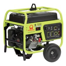 <strong>Pramac</strong> 7200 Watt Portable Gas Generator with Recoil/Electric Start