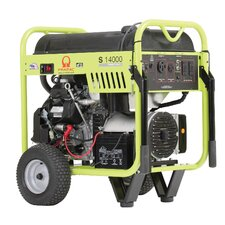 14000 Watt Portable Gas Generator with Honda GX630 Recoil/Electric Start