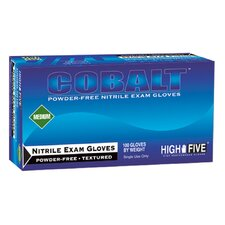 High Five Cobalt Nitrile Exam Glove 200 Count Case