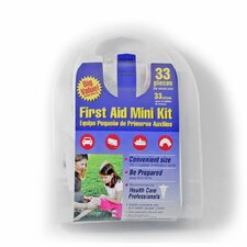 33-Piece All Purpose First Aid Kit