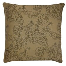 Huntington Embroidered Feather Down Pillow