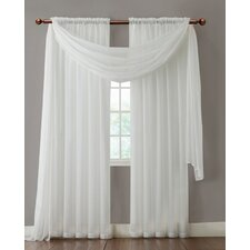 Infinity Sheer Curtain Single Panel